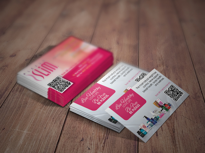Plexus Slim Business Cards – Kevin Vain