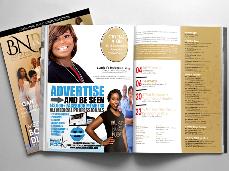 BNR Magazine Spread