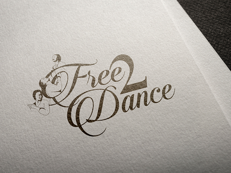 Free 2 Dance Logo Design